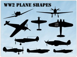 WW2-Planes-Shapes