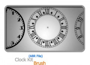 Brush Clock Kit