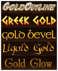Greek Gold Styles