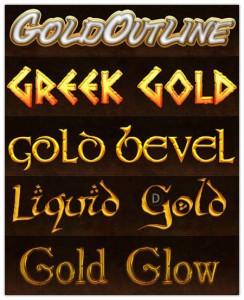 Greek Gold Styles