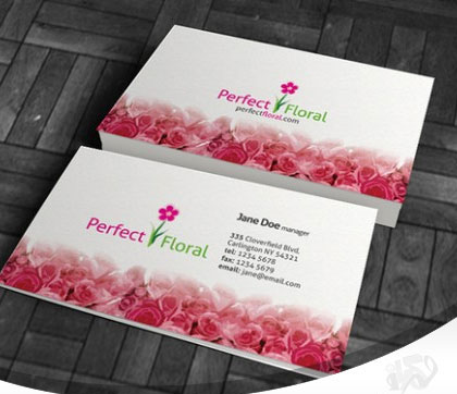Beautiful-Red-Roses-Business-Card