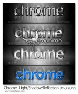 CHROME-Light-Shadow-Reflection
