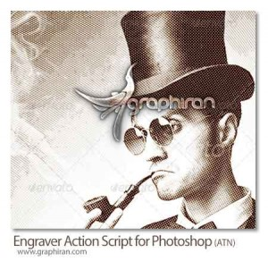 Engraver-Action-Script-for-Photoshop
