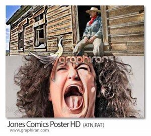 Jones-Comics-Poster